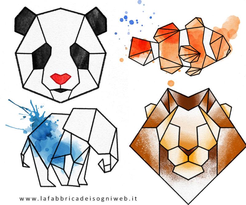 animali colore