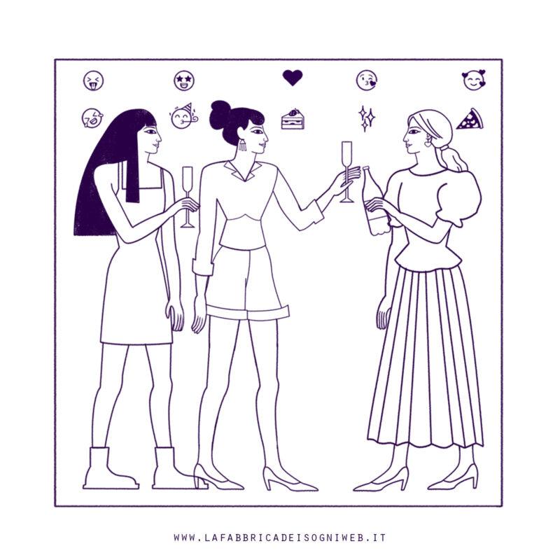 disegnare come gli antichi egizi: emoji