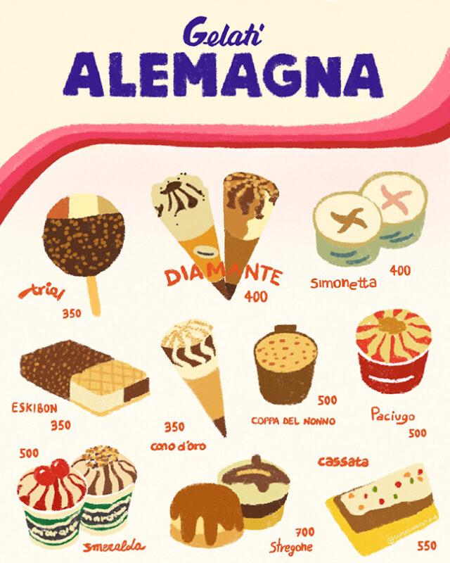 gelati Alemagna
