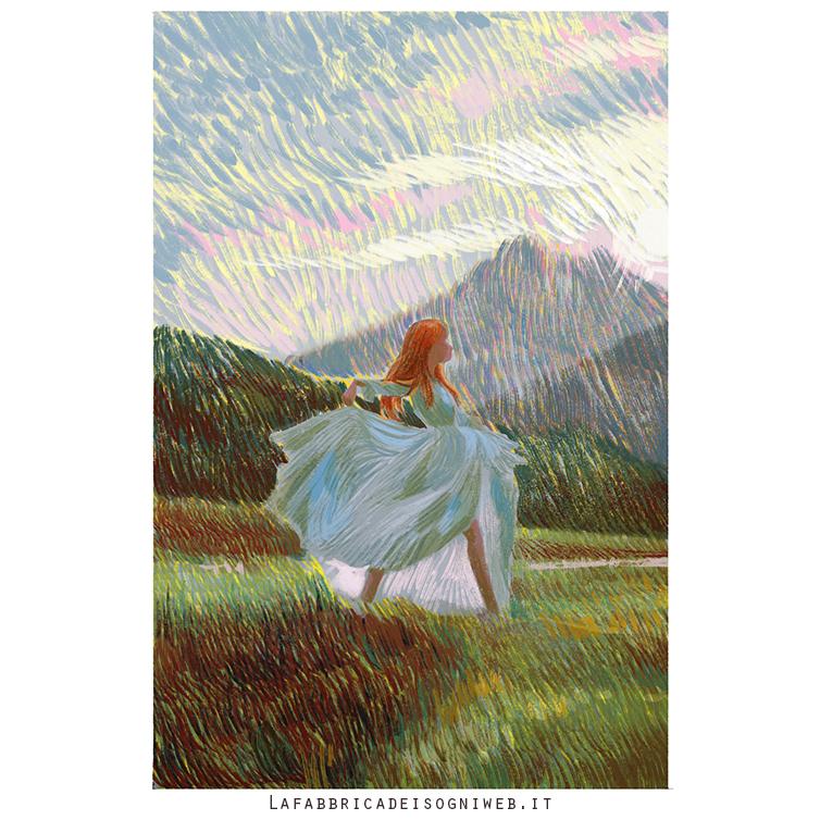disegnare l'impressionismo - colore fase 5