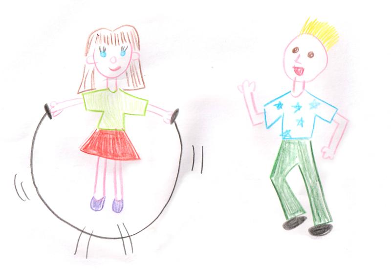 disegno in età scolare - il movimento