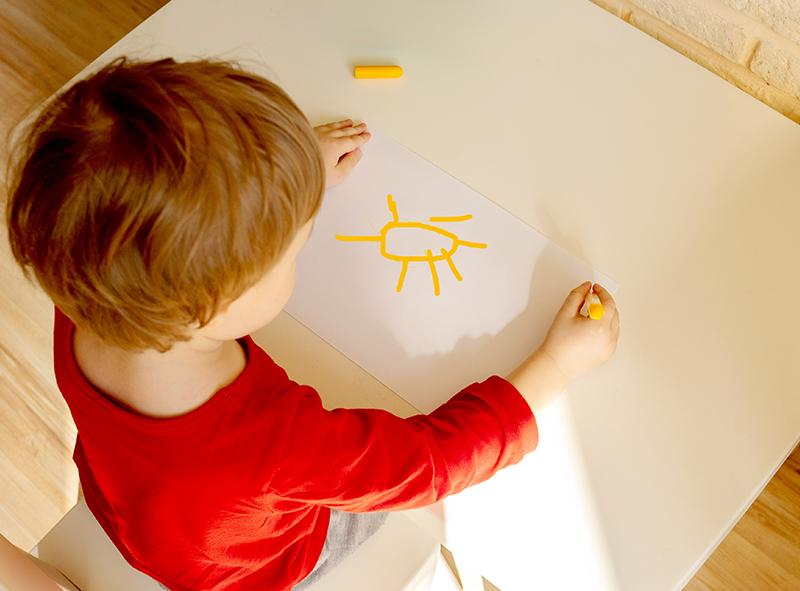 Il disegno del sole