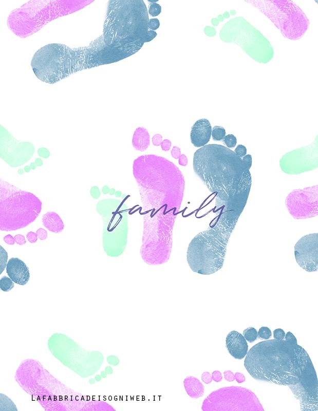 texture impronte piedi